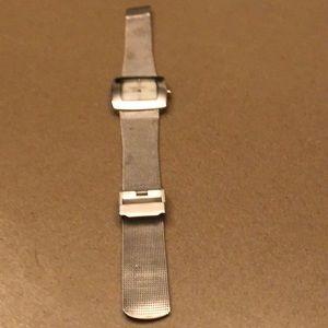 Skagen silver square watch